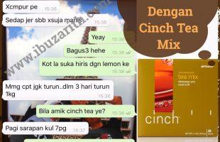 Cinch Tea Mix Meningkatkan Metabolisme Badan, Jadi Cepat Kurus!