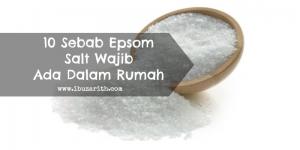 kebaikan epsom salt